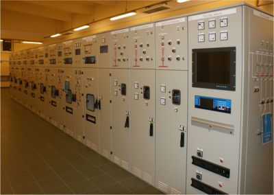 "RT-1/36-O DC switchgear in ""Krucza"" substation in Poland"